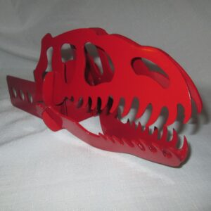 Raptor Hitch Cover (Red)